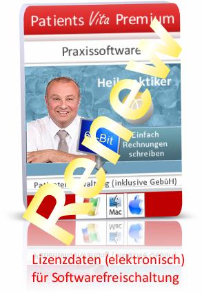 Lizenzverlängerung Patients Premium Gold 365 für Mac